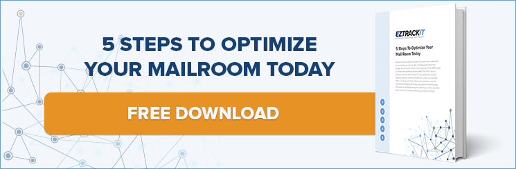 5 steps to optimize your mailroom - EZTrackIt ebook
