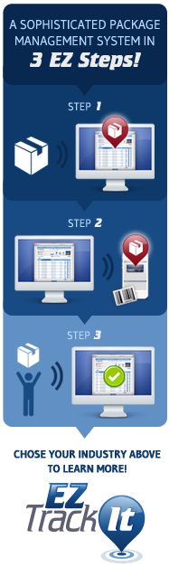 Package Logging Software 3 Step Package Tracking