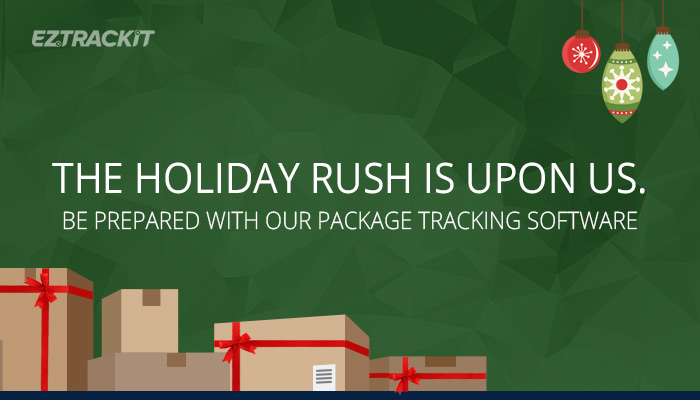 Handle the mailroom-organization holiday rush with EZTrackIt-package logging software